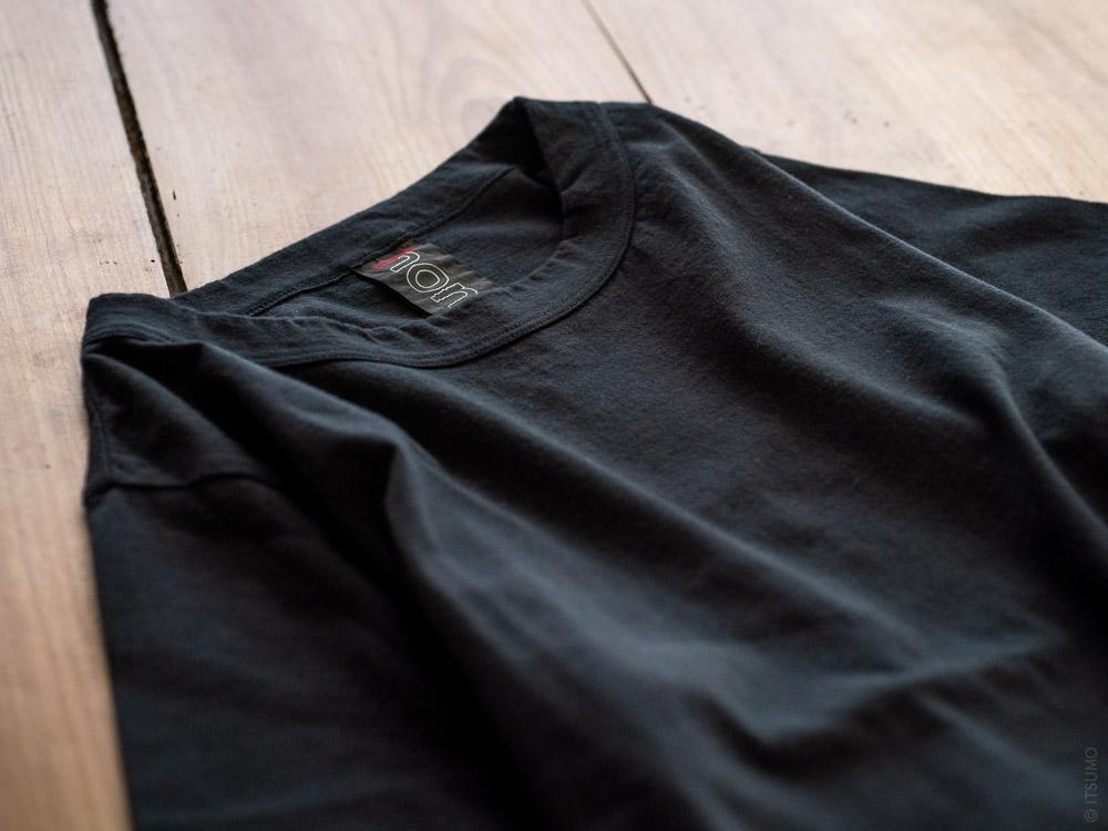 Homspun_Cotton T-shirt_black