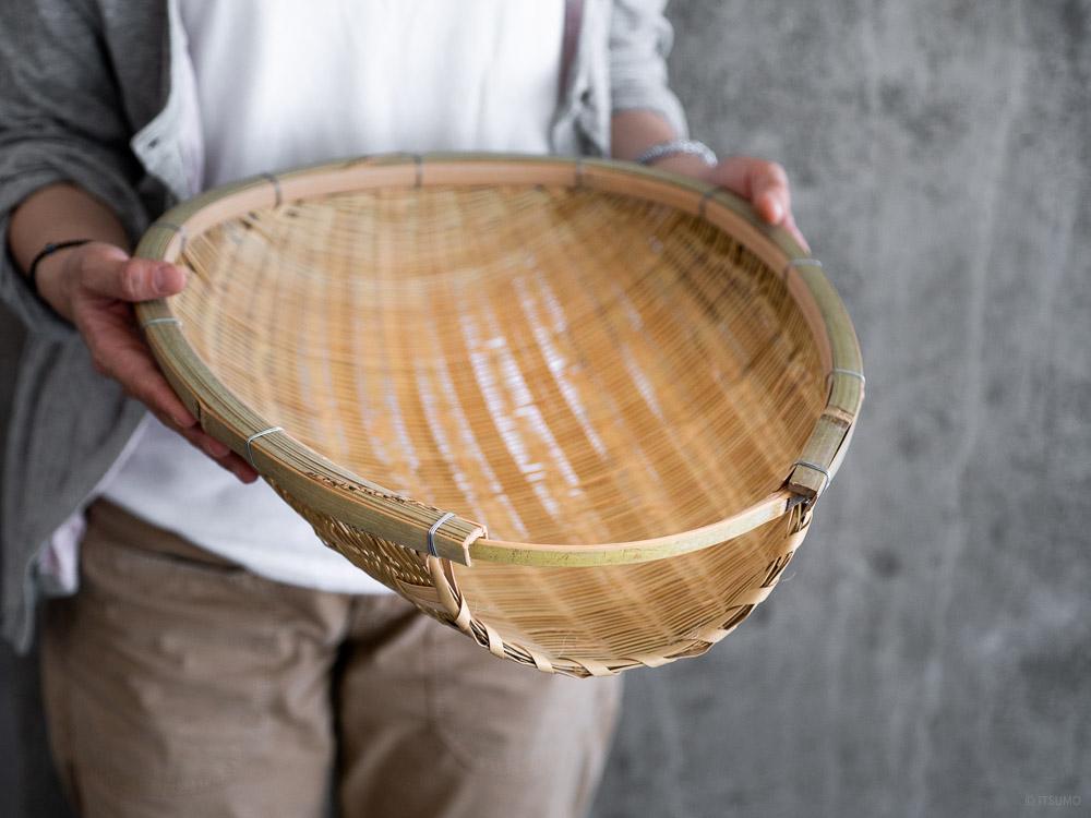 Agezaru Bamboo Basket