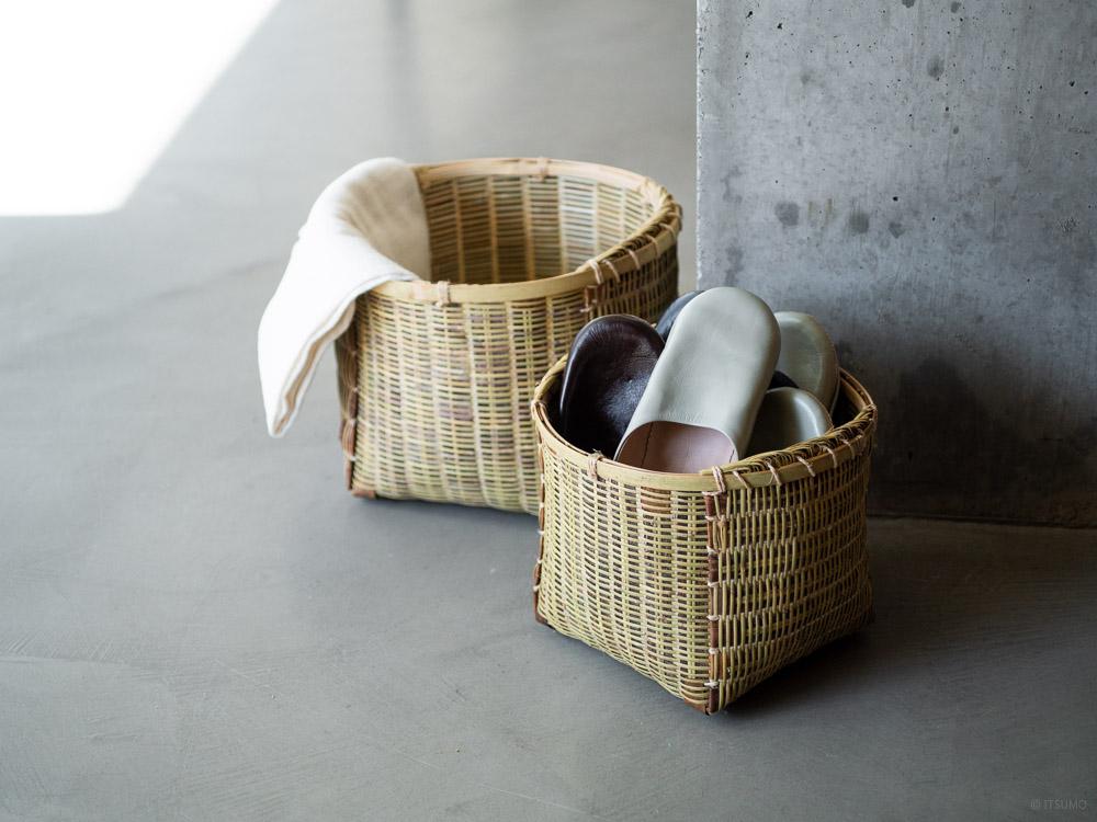 Sakura Kuzu Bamboo Basket-10