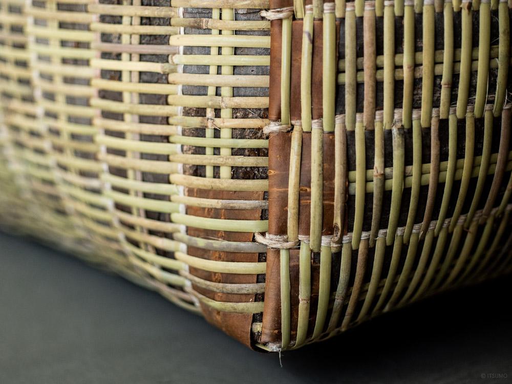 Sakura Kuzu Bamboo Basket-7