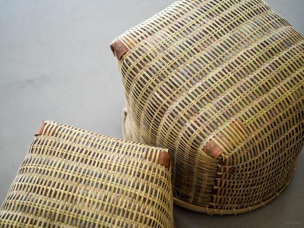 Sakura Kuzu Bamboo Basket-8