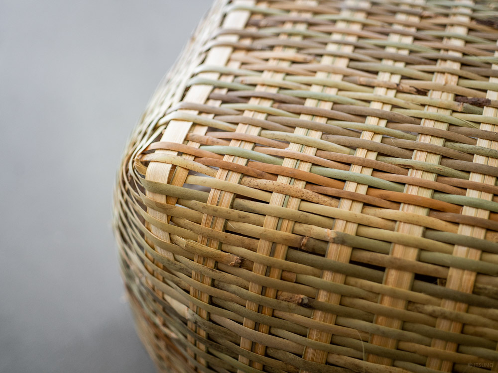 Shichinari Bamboo Basket-2