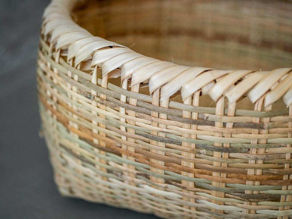 Shichinari Bamboo Basket-4