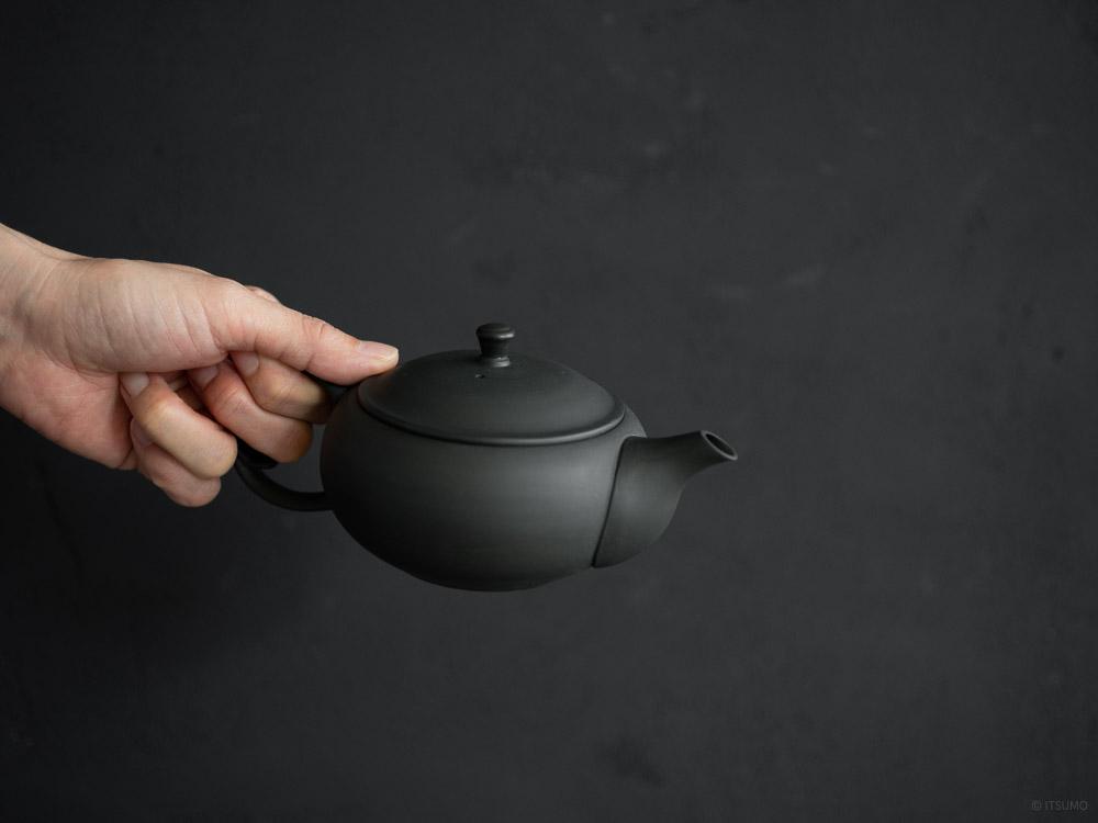 Azmaya_Oval Teapot with Back Handle
