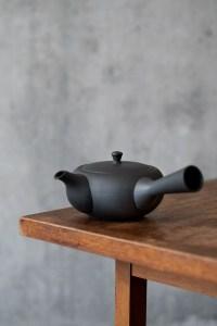 Azmaya_Oval Teapot with Side Handle_top