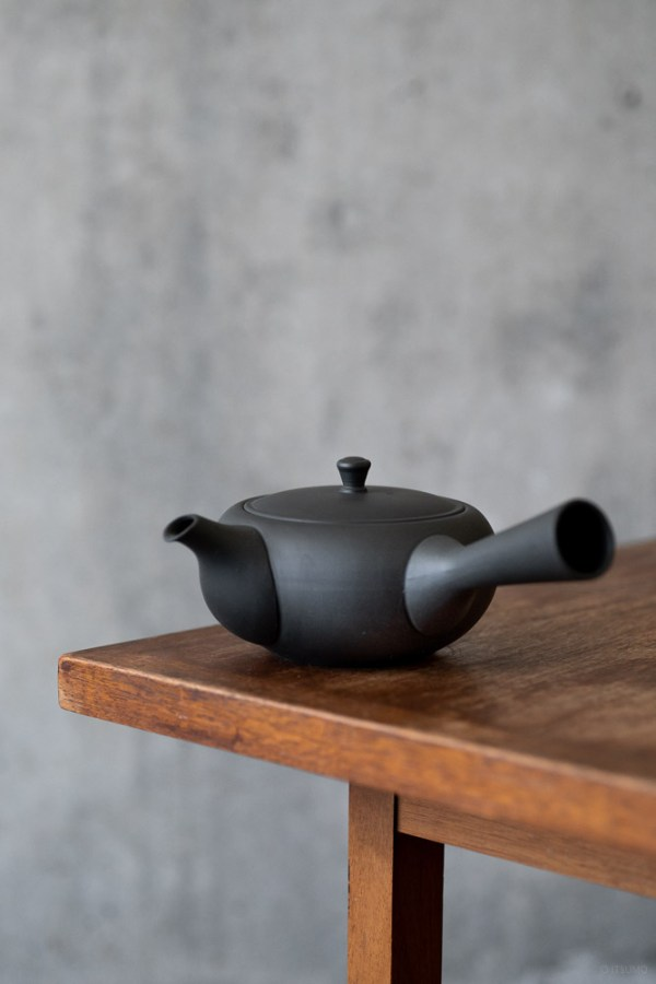 Azmaya_Oval Teapot with Side Handle_top