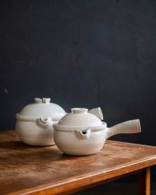 azmaya-iga yukihira pot-igaware ceramic donabe-sekkai light grey-1