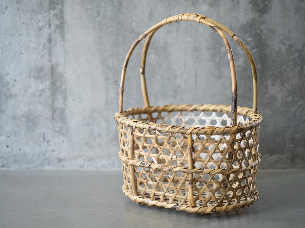 Aizu Oshin Bamboo Basket-2