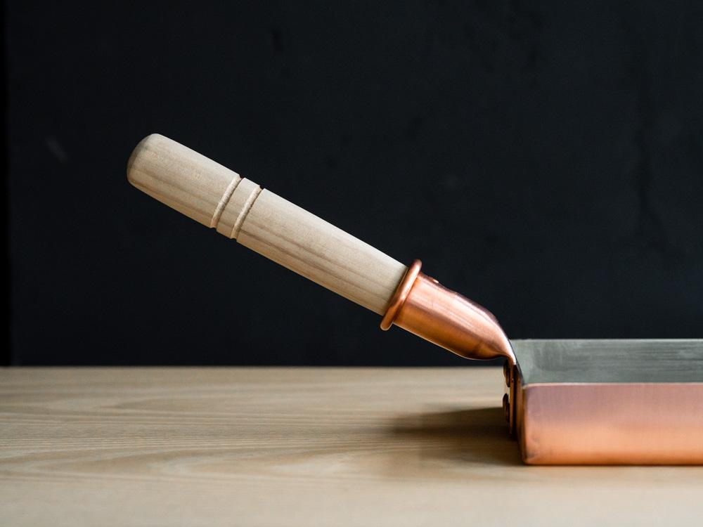Kiya Copper Tamago Frying Pan - Square-5