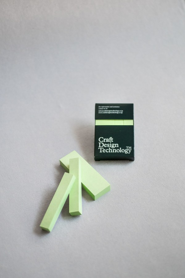 stationery craft design technology_adhesive memo_sticky notes_pale green