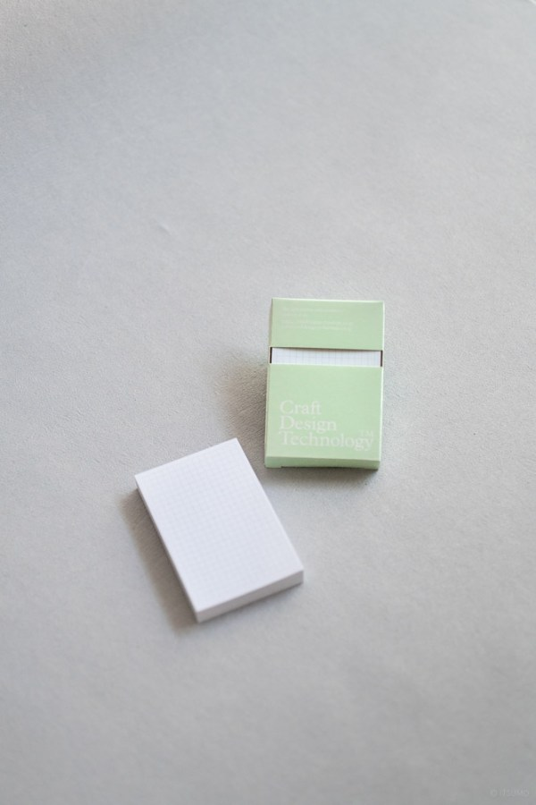 stationery craft design technology_adhesive memo_sticky notes_white 3mm graph