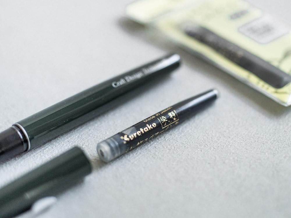 craft design technology_brush pen_box set and refill. ink_black-8
