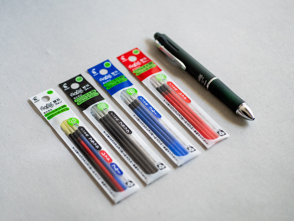 craft design technology_frixion ball 3_erasable pen and refill inks-6