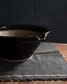 azmaya-iga mortar & sansho pestle XL-igaware ceramic-wooden pestle-4