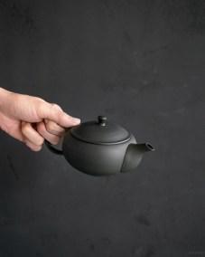 azmaya-ovel teapot with back handle-5