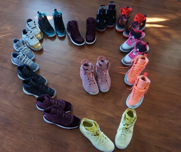 Sneaker Love - Air Jordan Sneaker Collection