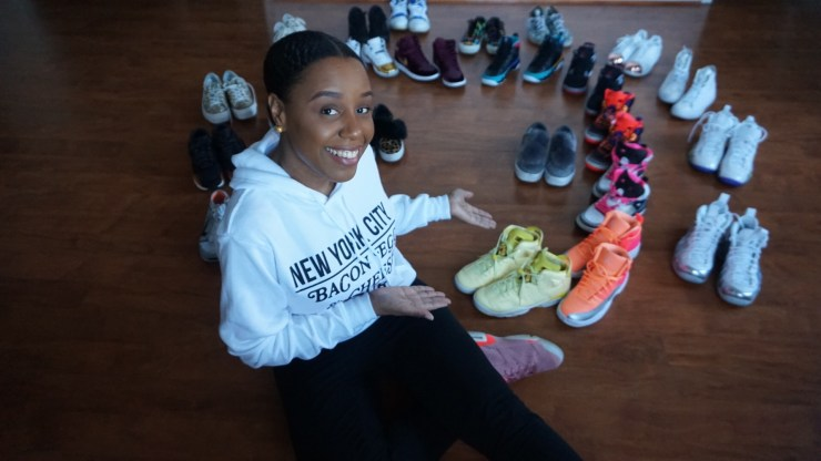 My lil Air Jordan Sneaker Collection