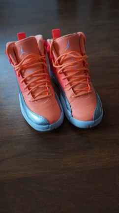 Love this color way, pink orange and gray. The possibilities are endless.