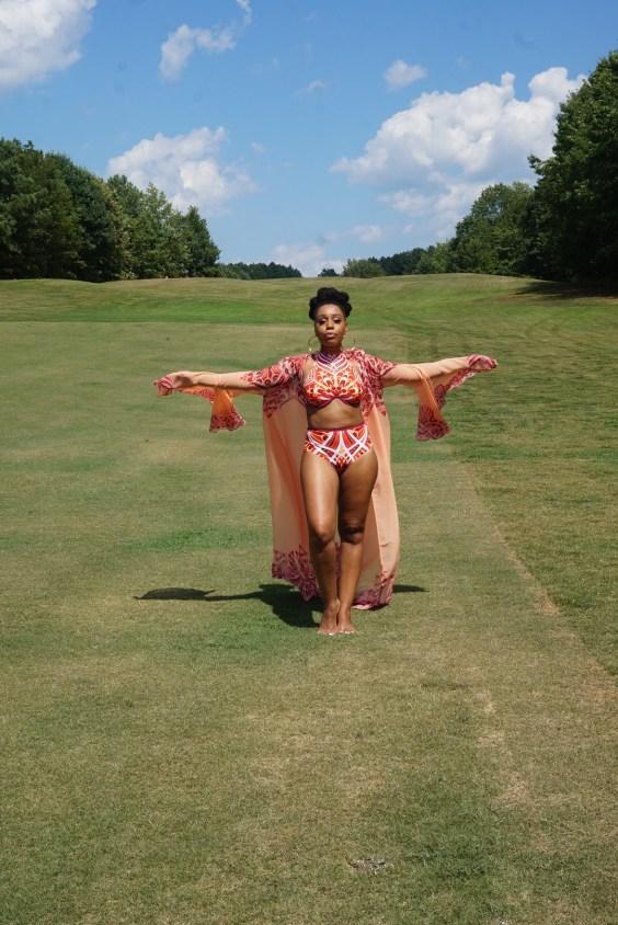 ANDREA IYAMAH SWIMWEAR The Milka Robe and Yomi Bikini