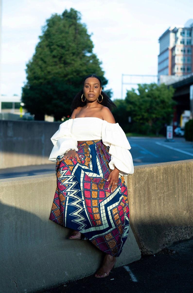 Chen Burkett Maxi Skirt