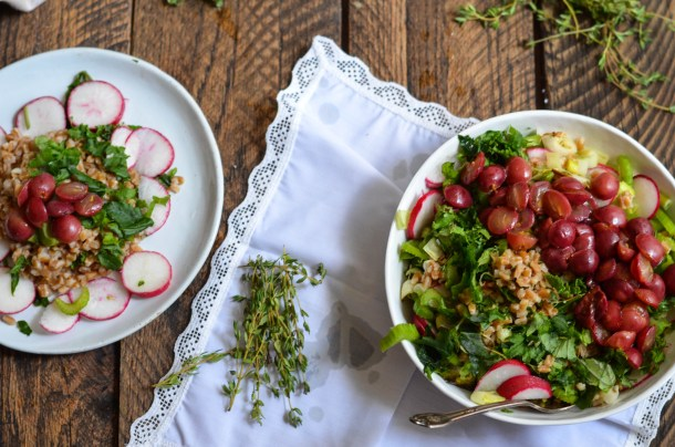 Farro Salad.. - What's Cooking_