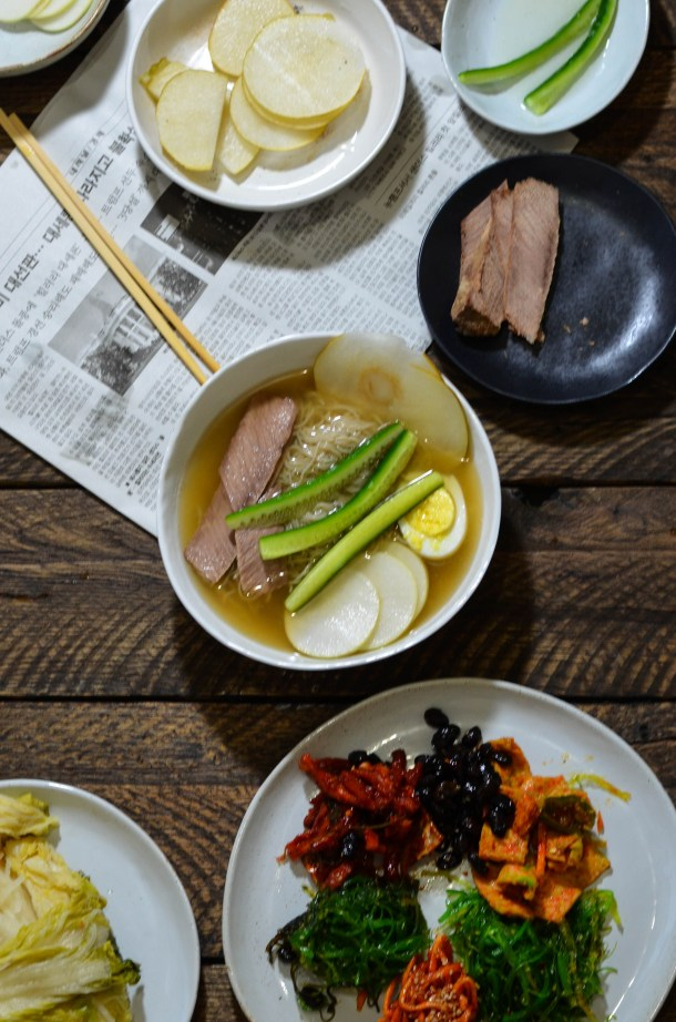 Naengmyeon, (Korean Cold Noodle. Soup.)- What's Cooking_