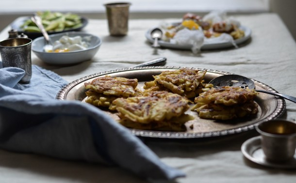 Apple Latkes2 - What's Cooking_