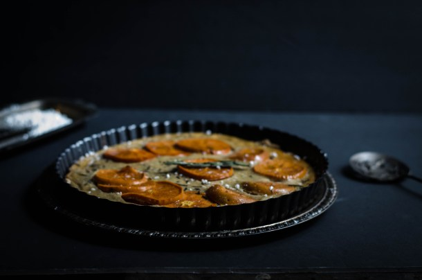 .Spiced Persimmon Tart. - What's Cooking_-6