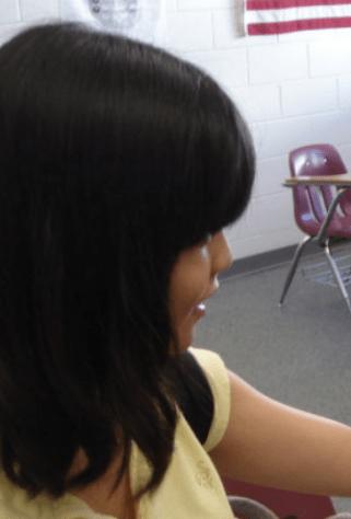 female bowlcut
