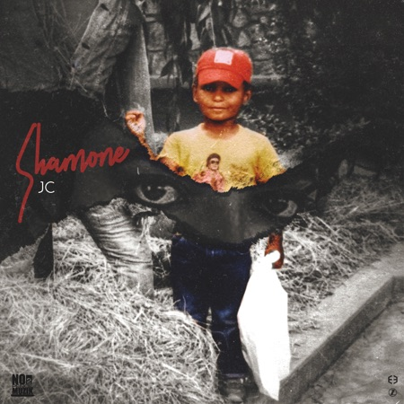 Child in a red hat on an album cover
