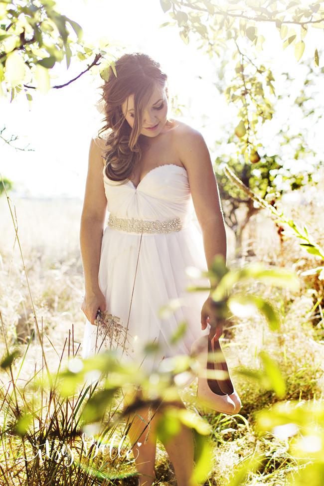 Bridal Portrait rustic wedding ideas