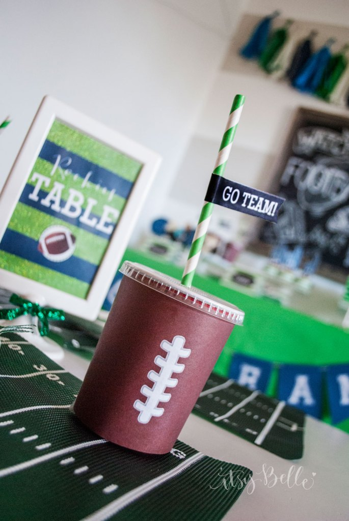 Football Party Ideas by Itsy Belle