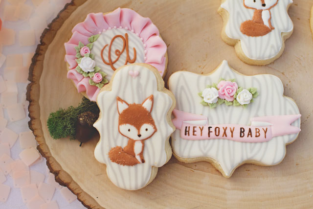 Foxy Baby Cookies