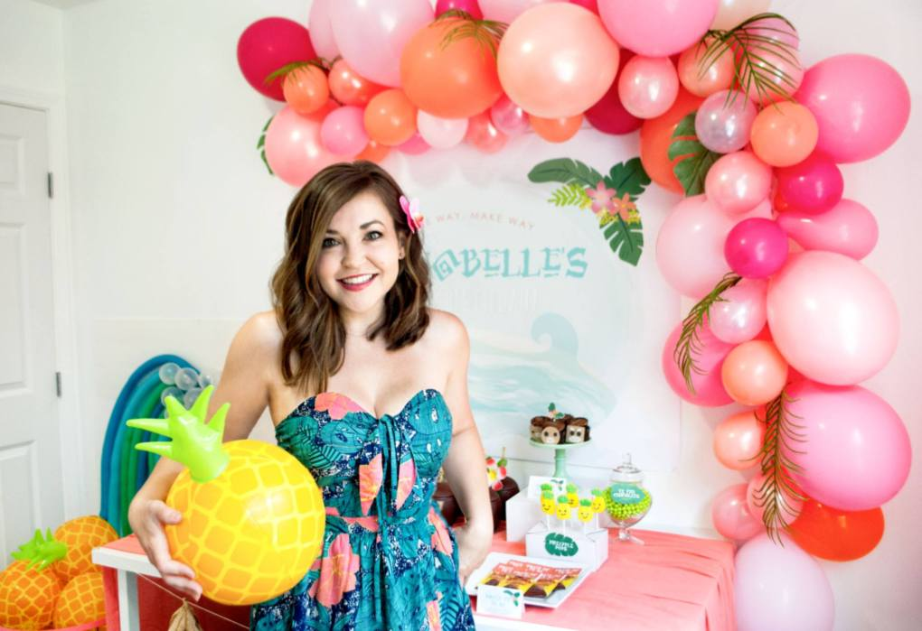 Pineapple Party theme