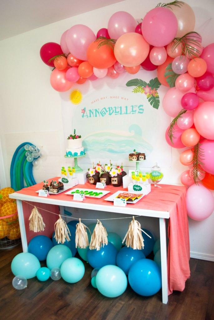 Moana Party Ideas