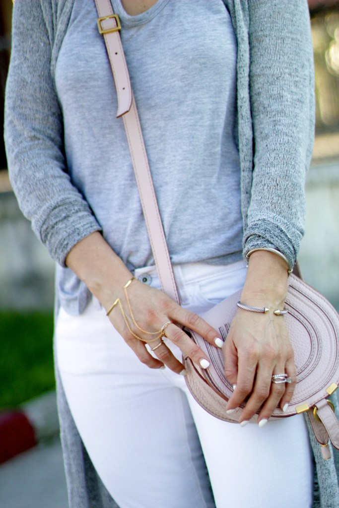 gold dainty jewelry, chloe marcie bag