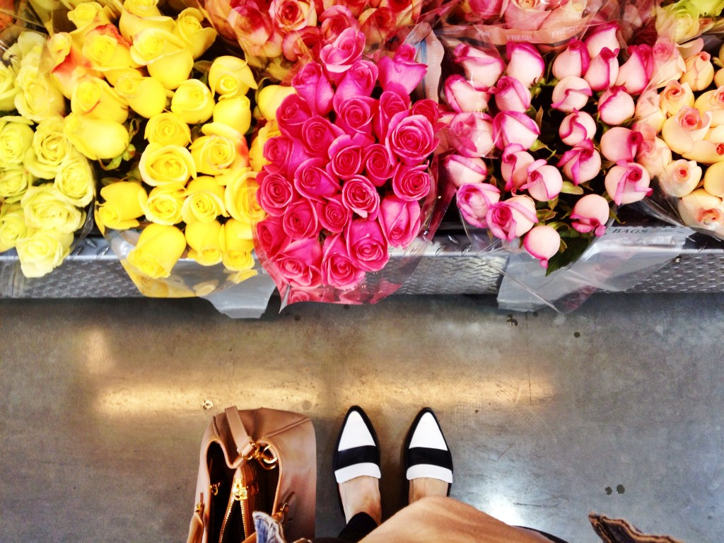 flowers and mules