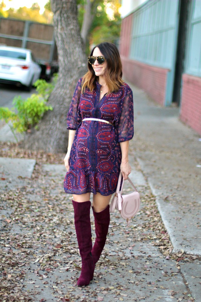over the knee boots, itsy bitsy indulgences