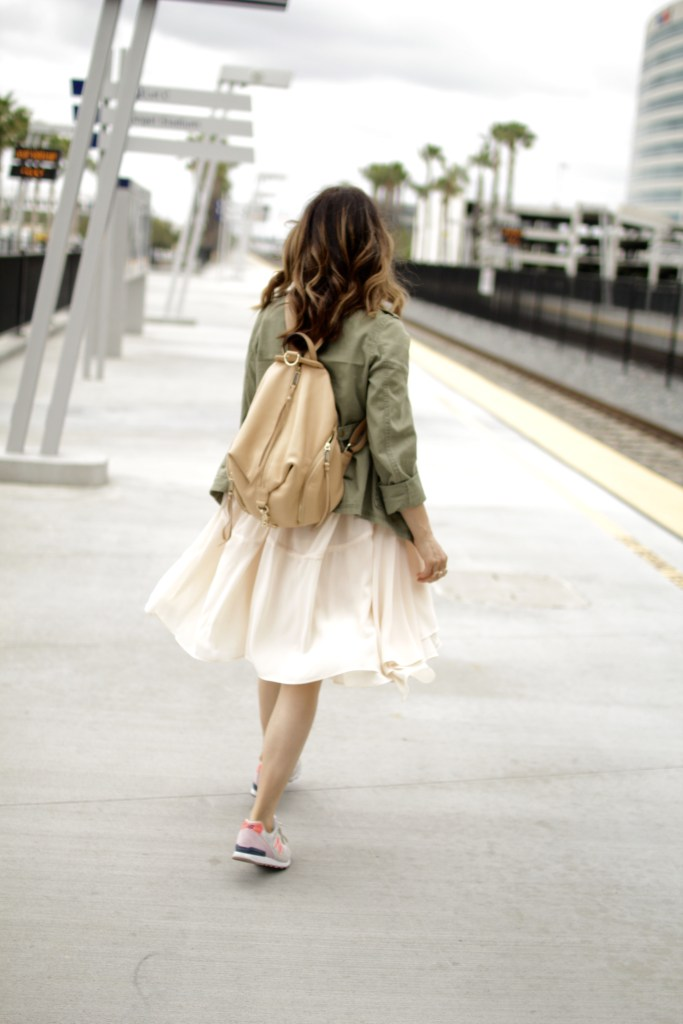 backpack and sneakers, itsy bitsy indulgences
