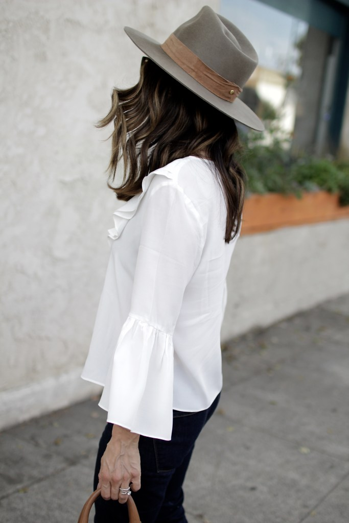 bell sleeves + fall fedora,itsy bitsy indulgences
