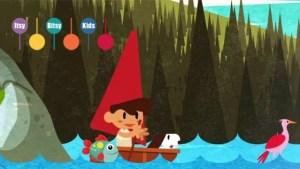 lyrics of Row Row Row Your Boat Nursery Rhyme