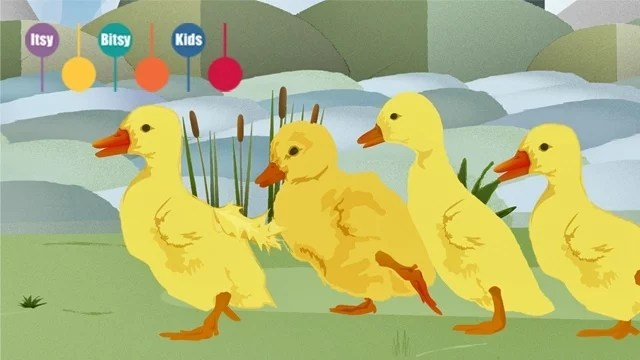 six little ducks song thumbnail