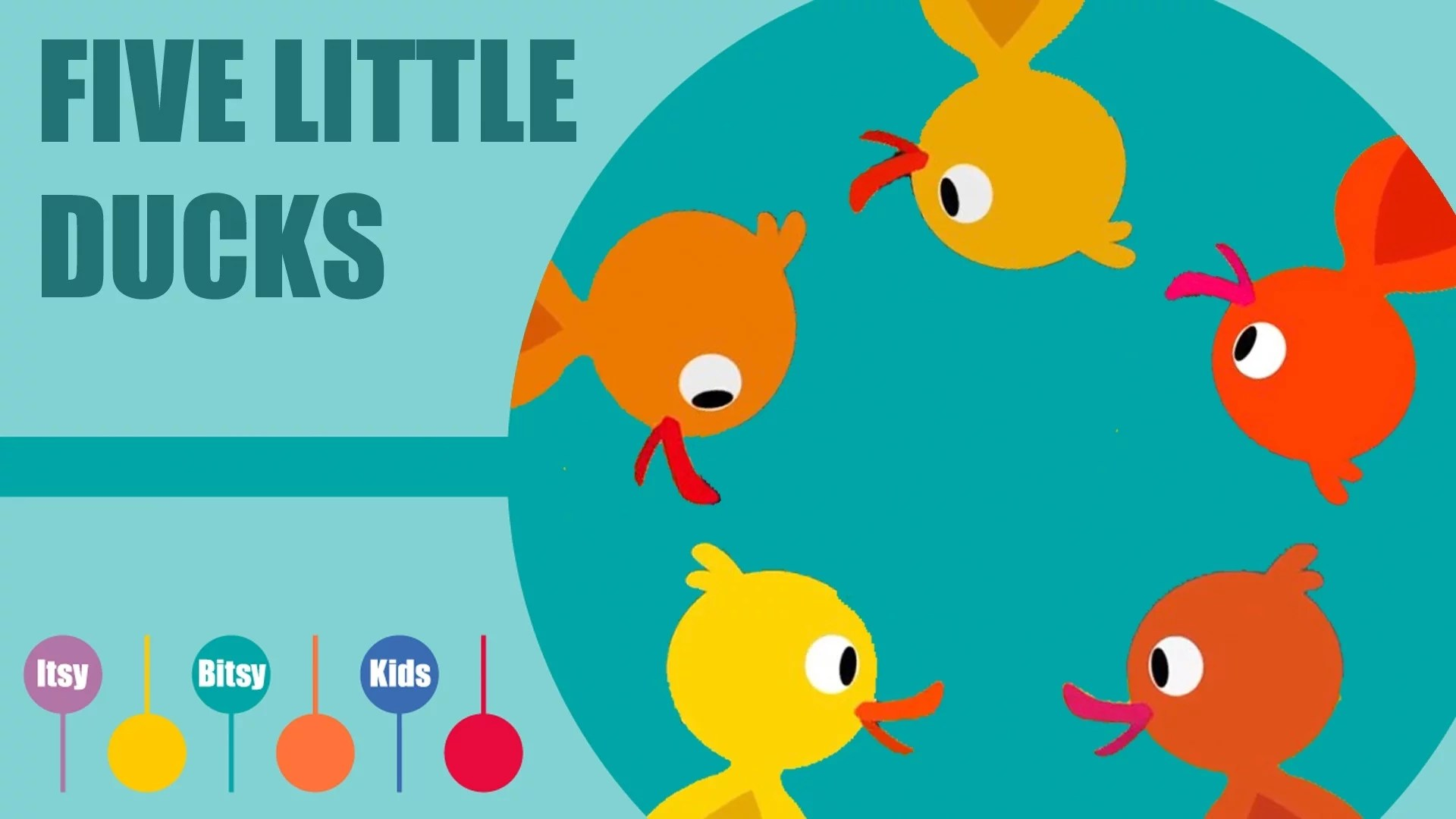 Five Little Ducks Sheet Music With Chords And Lyrics