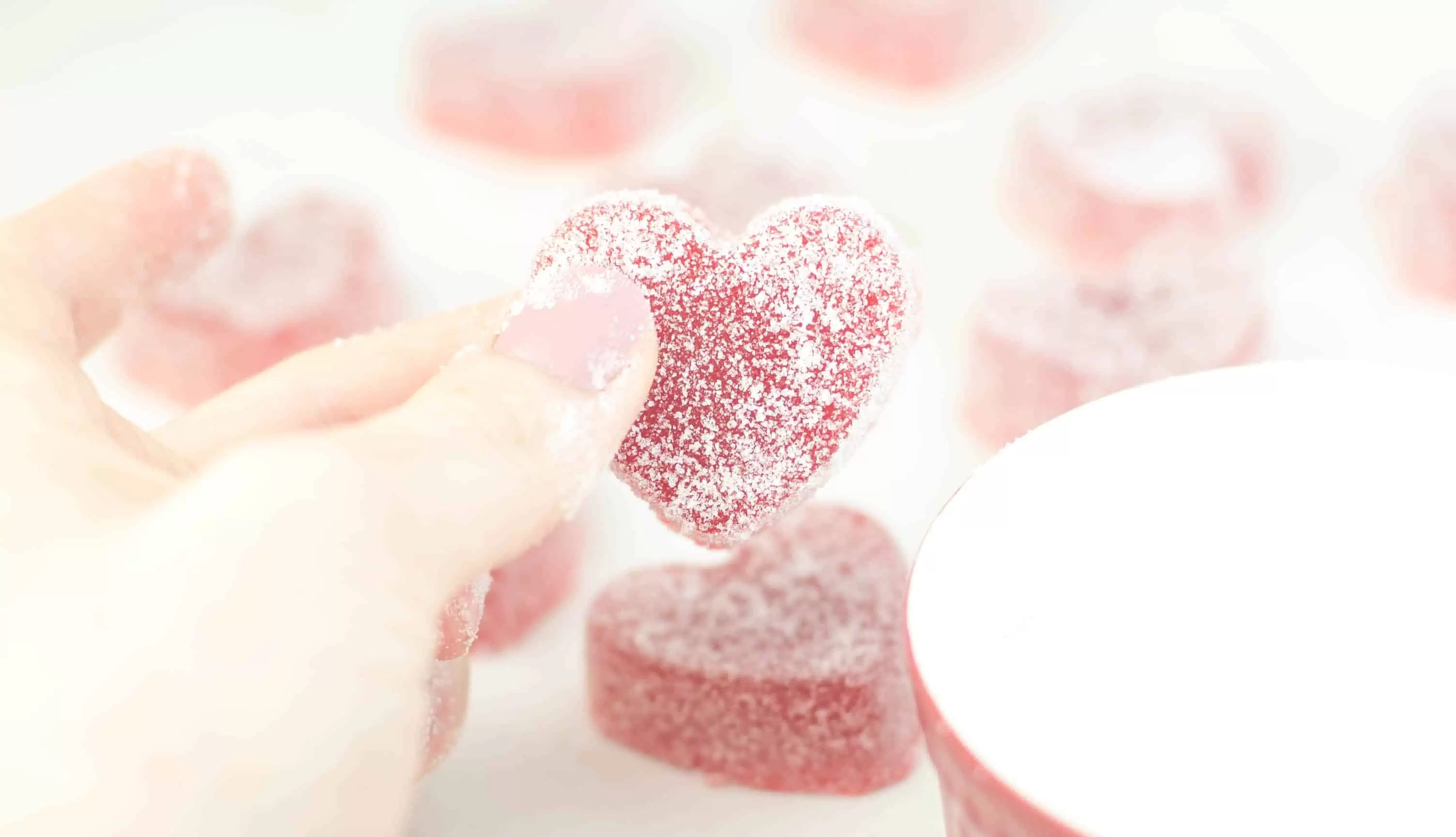 Easy Gummy Candy Hearts The Itsy Bitsy Kitchen