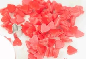 Miniature gummy candies