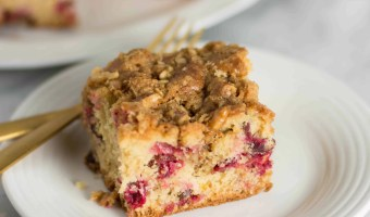 Cranberry Cardamom Coffee Cake