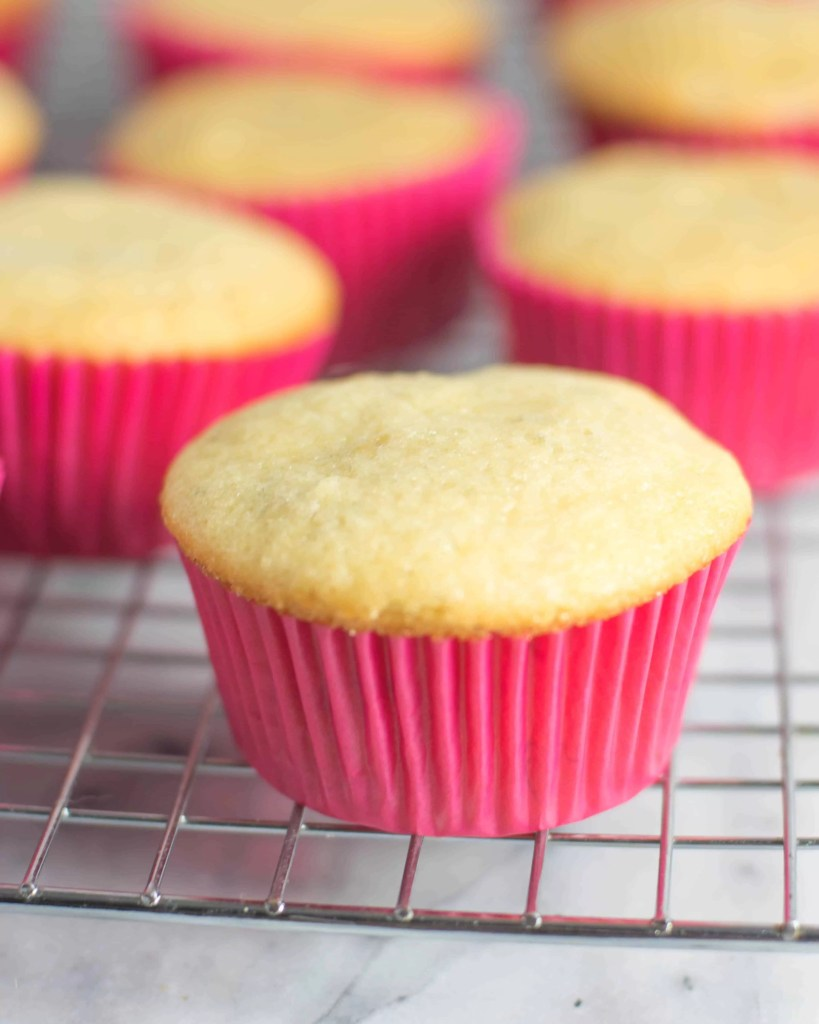 photo of unfrosted banana cupcakes