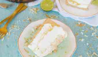 Dreamy Coconut Lime No-Bake Cheesecake