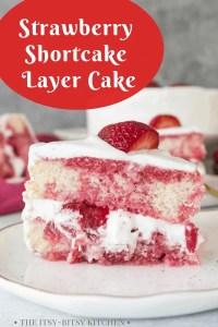 pin image for strawberry shortcake layer cake