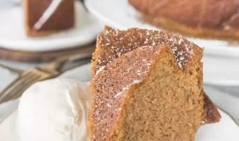 Hot Buttered Rum Bundt Cake
